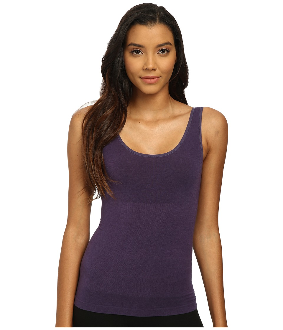 Yummie by Heather Thomson - Stephanie 2-Way Tank (Purple Velvet) Women