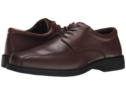 Nunn Bush - Jasen B (Brown) Men's Lace-up Bicycle Toe Shoes