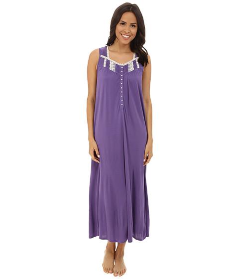 Eileen West - Ballet Nightgown (Plum) Women's Pajama