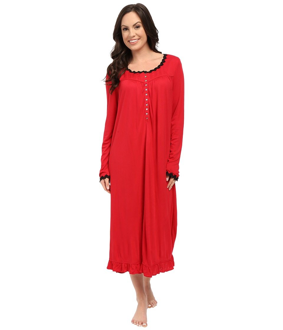Eileen West - Waltz Nightgown (Scarlet) Women's Pajama