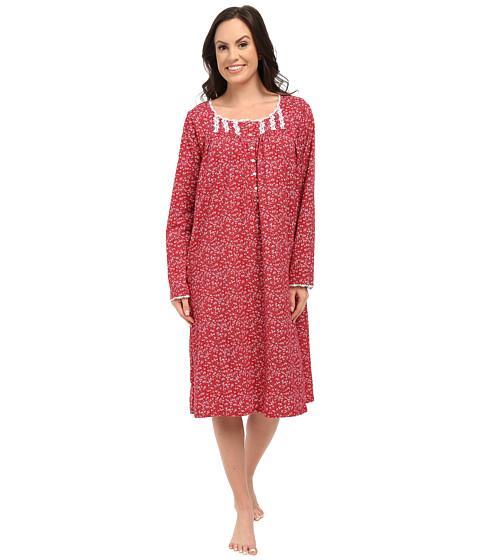 Eileen West - Waltz Nightgown (Red Multi) Women