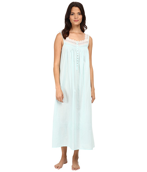 Eileen West - Ballet Nightgown (Solid Waltz Blue) Women's Pajama