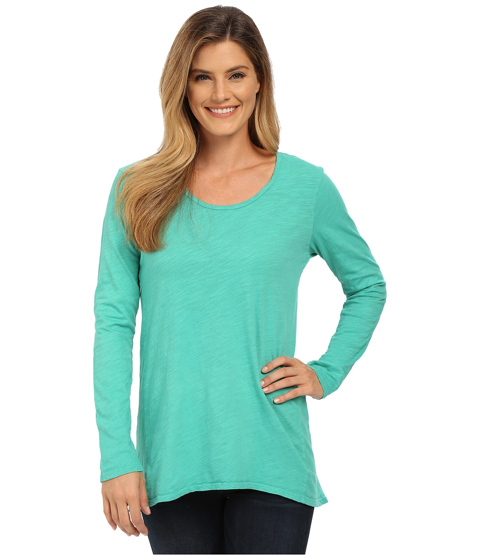 Fresh Produce - Long Sleeve Luna Top (Parsley) Women's Clothing