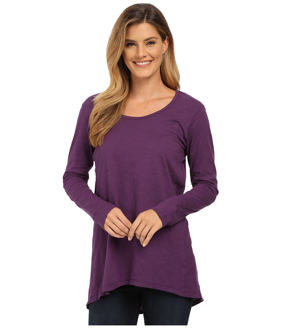 Fresh Produce - Long Sleeve Luna Top (Vineyard) Women's Clothing