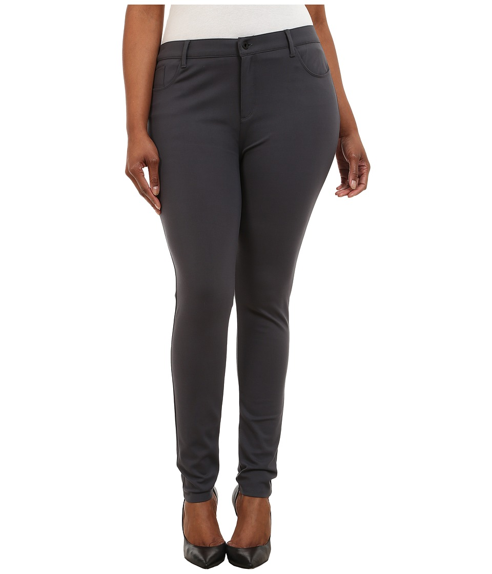 Yummie by Heather Thomson - Plus Size Tyler Jean Legging (Asphalt) Women's Casual Pants