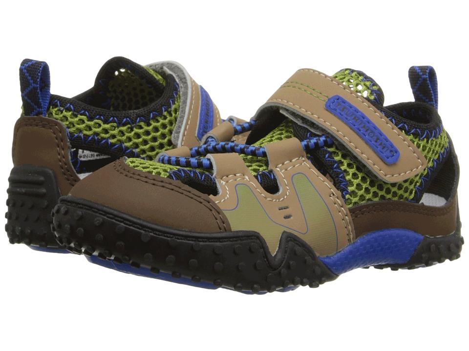 Tsukihoshi Kids Ibiza (Toddler/Little Kid) (Brown/Khaki) Boys Shoes