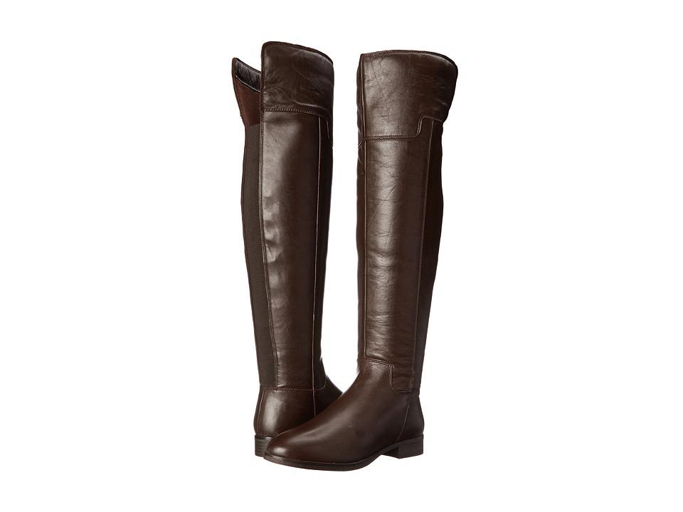 ALDO - Frido (Dark Brown) Women's Zip Boots