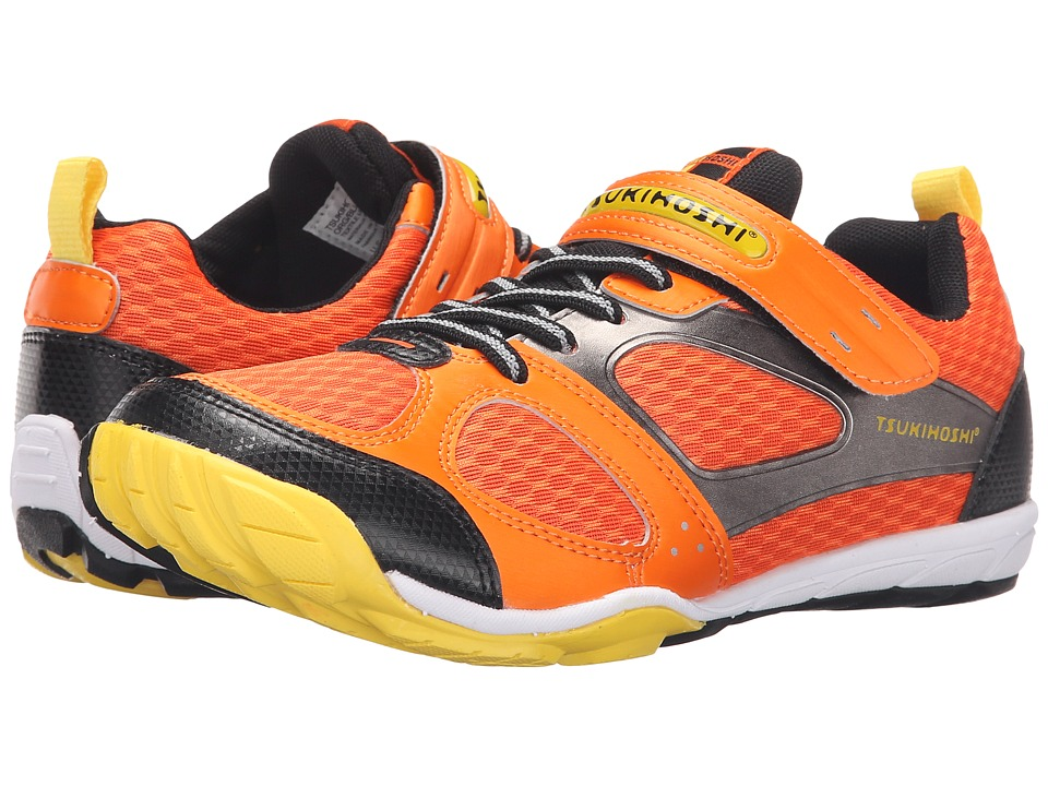 Tsukihoshi Kids - Mako HL 2 (Little Kid/Big Kid) (Orange/Black 1) Boys Shoes