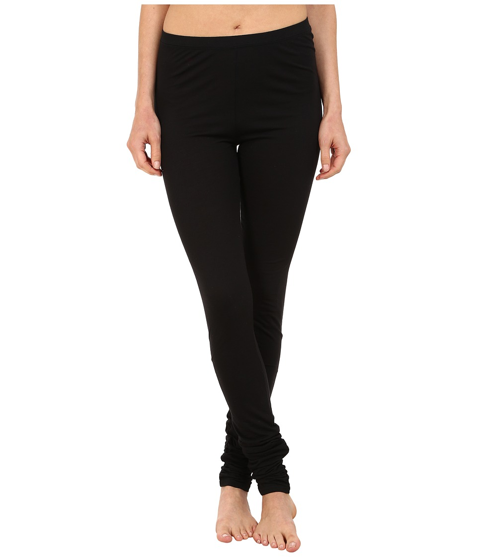 Yummie Leggings w/ Shirring (Black) Women