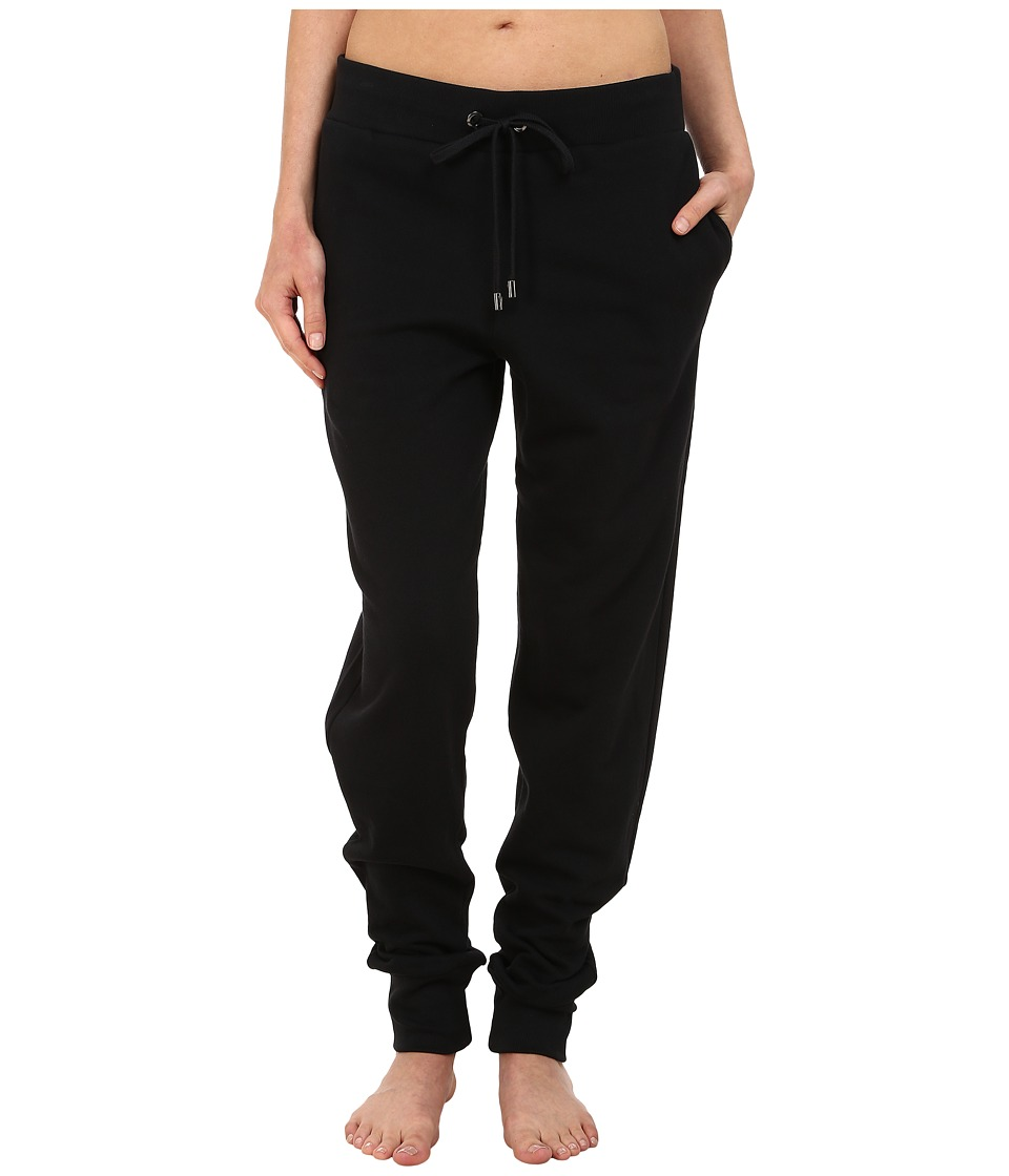 Yummie by Heather Thomson - Sweatpants w/ Slash Pocket (Black) Women's Casual Pants