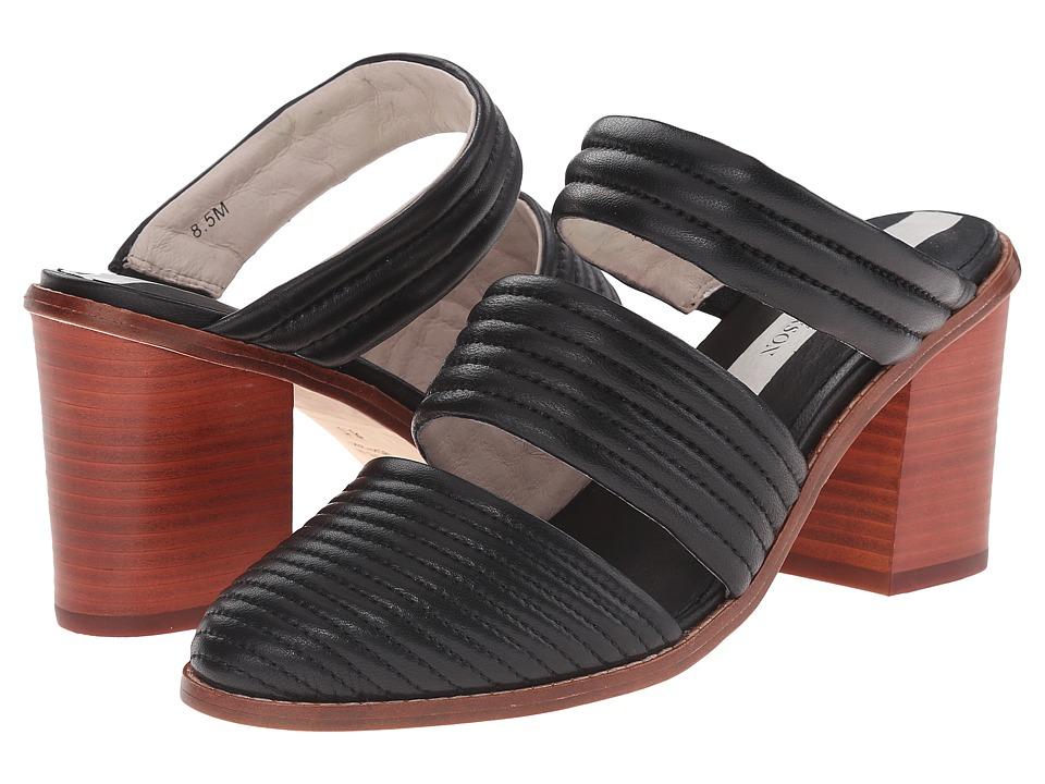Matt Bernson - Muse Heel (Black Leather) Women's Shoes