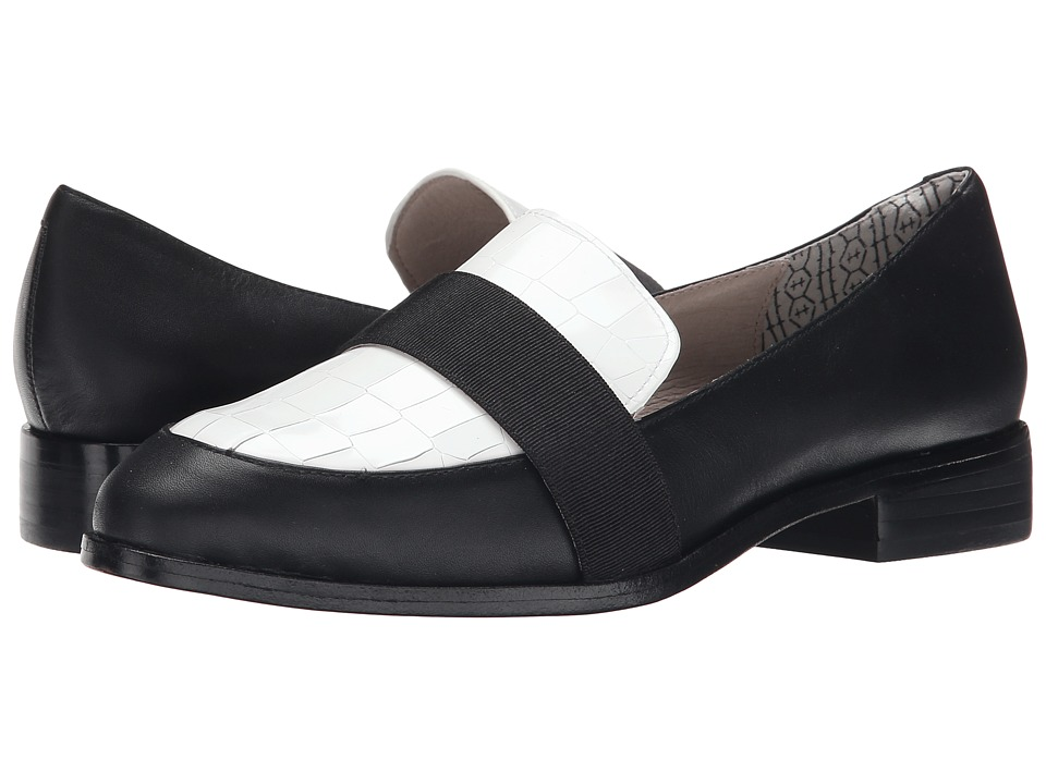 Matt Bernson - Coltrane (Black/White Patent Croco) Women's Shoes