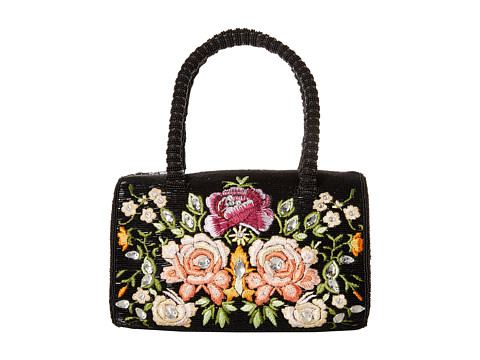 Mary Frances - Italian Rose (Black/Multi) Handbags