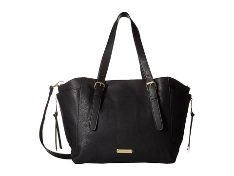 Steve Madden - Brollins Bag with Sherpa Lining (Black/Multi) Handbags