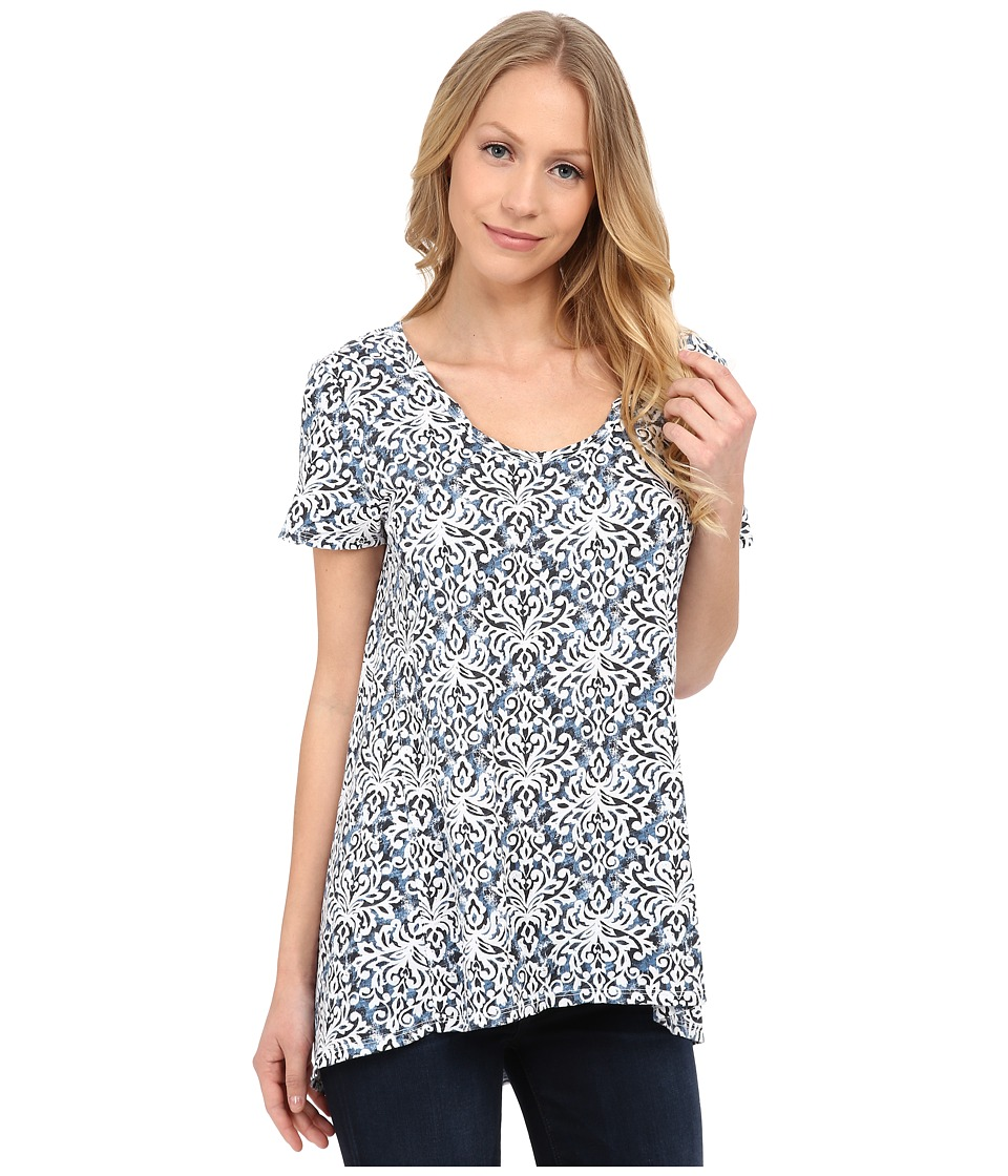 Fresh Produce - Baroque Luna Top (White) Women's Clothing
