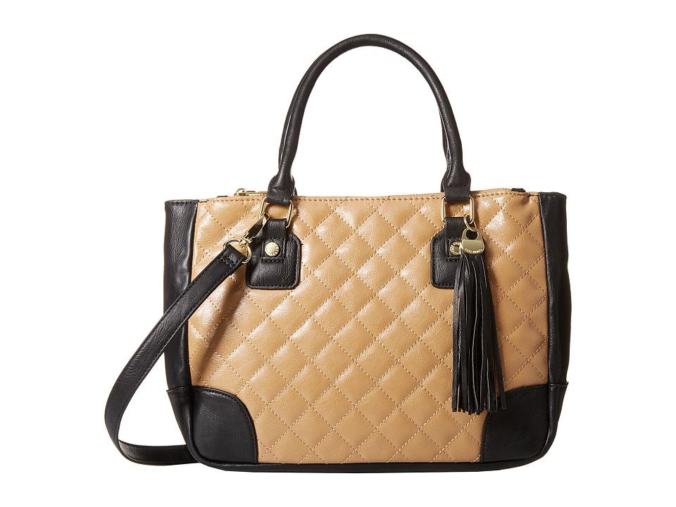 Steve Madden - Bfilmer Quilted Satchel (Camel Multi) Satchel Handbags