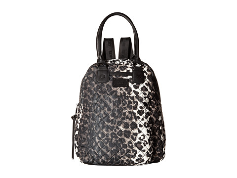 Steve Madden - Btoon Nylon Convertible Tote/Backpack (Leopard) Backpack Bags