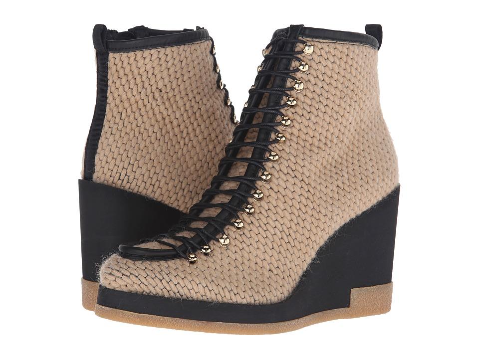Miista - Jada (Beige) Women's Wedge Shoes