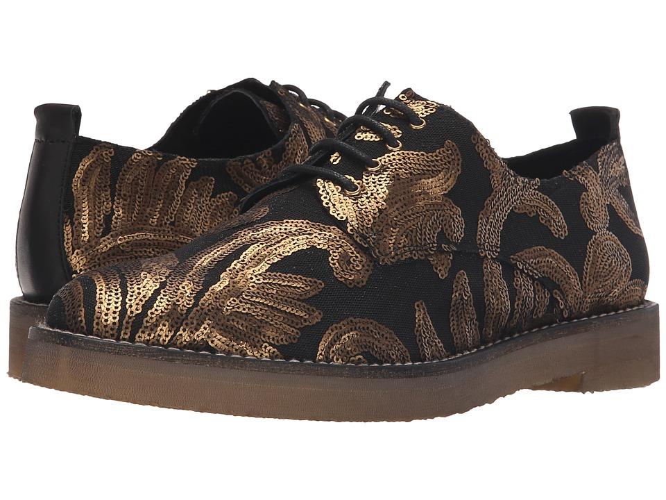 Miista - Eloise (Black/Gold) Women's Shoes