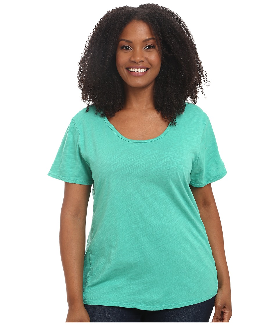 Fresh Produce - Plus Size Luna Top (Parsley) Women