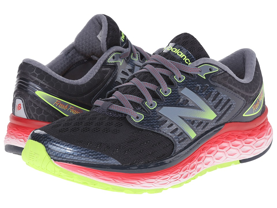 new balance shoes red and black. new balance fresh foam 1080 (black/red) men\u0027s running shoes red and black