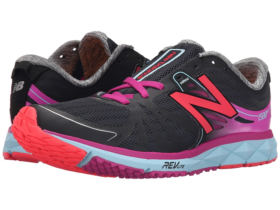 New Balance - W1500v2 (Black/Pink) Women's Shoes