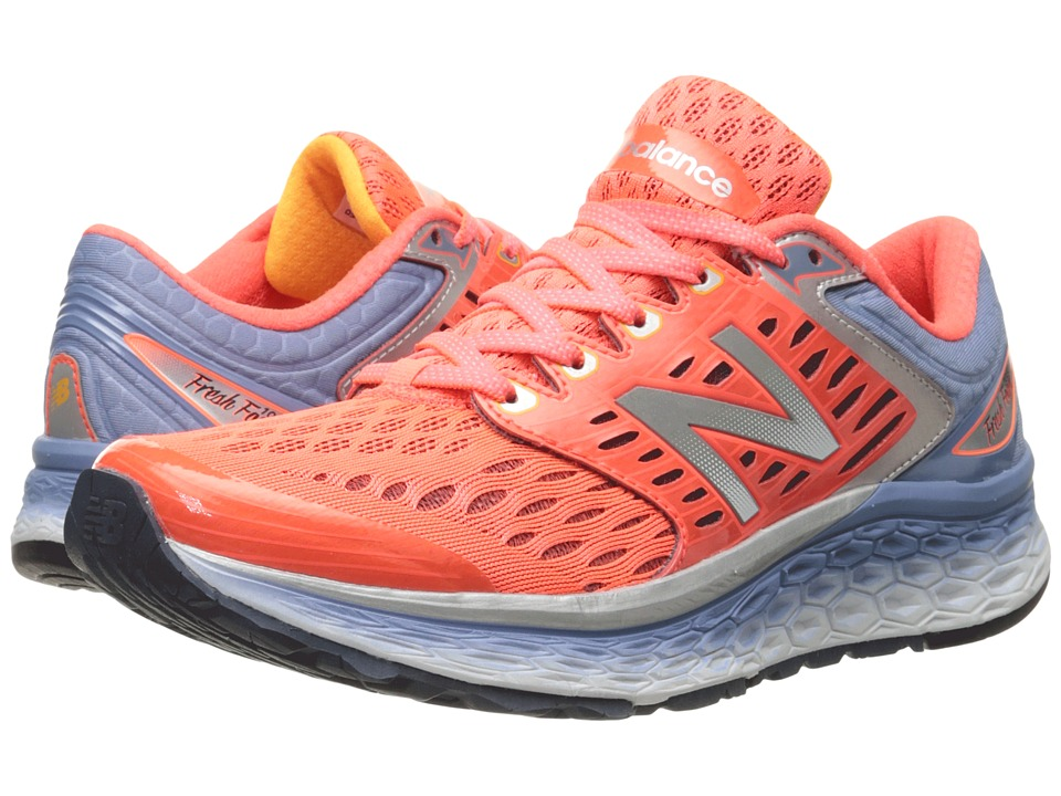New Balance - Fresh Foam 1080 (Pink/Grey) Women's Shoes