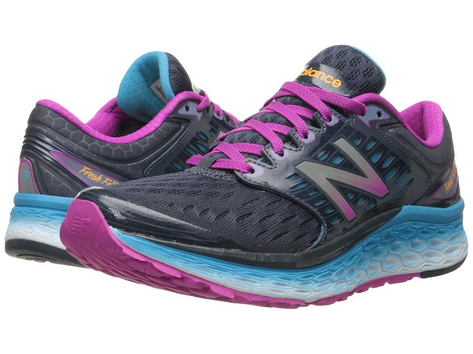 New Balance - Fresh Foam 1080 (Blue/Pink) Women's Shoes