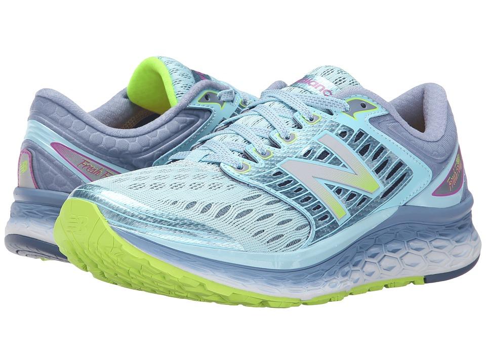 New Balance - Fresh Foam 1080 (Blue/Grey) Women's Shoes
