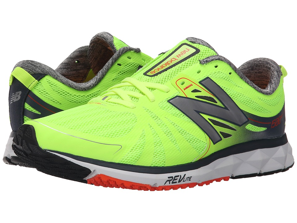 New Balance - M1500v2 (Green/Grey) Men's Running Shoes
