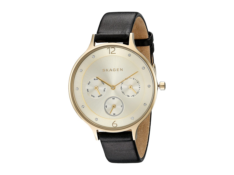 Skagen - Anita SKW2393 (Gold/Black) Watches