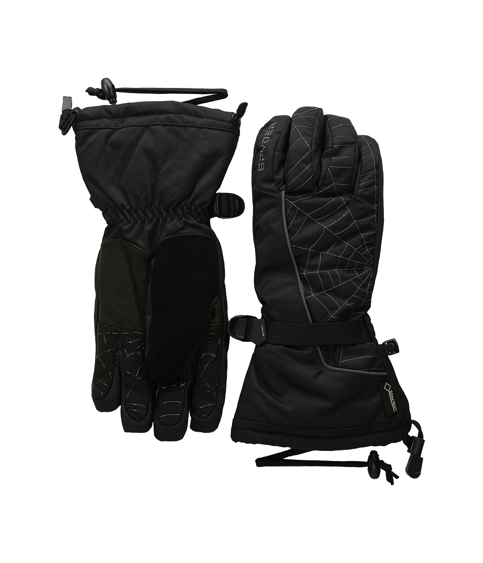 Spyder - Overweb Gore-Tex Ski Glove (Black/Polar) Over-Mits Gloves