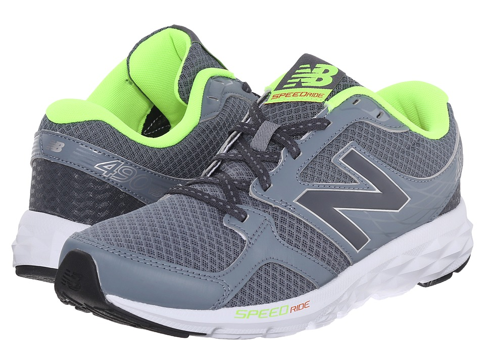 New Balance - M490C (Grey/Green) Men's Running Shoes