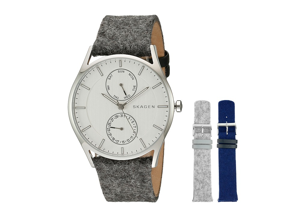Skagen - Holst Boxed Set SKW1060 (Stainless Steel/Grey/Blue) Watches
