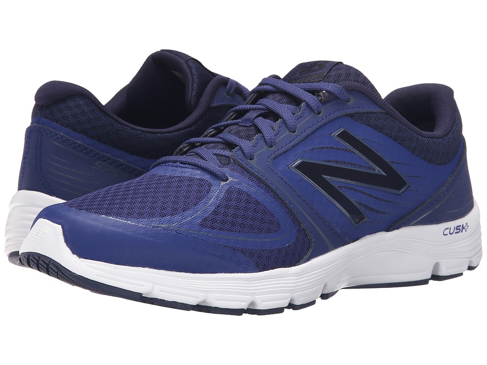 New Balance - M575L (Navy/White) Men's Running Shoes