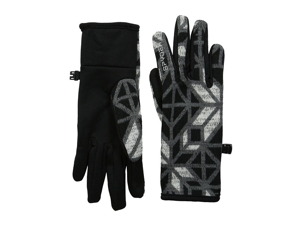 Spyder - Alpine Chic Glove (Black Stained Glass) Ski Gloves
