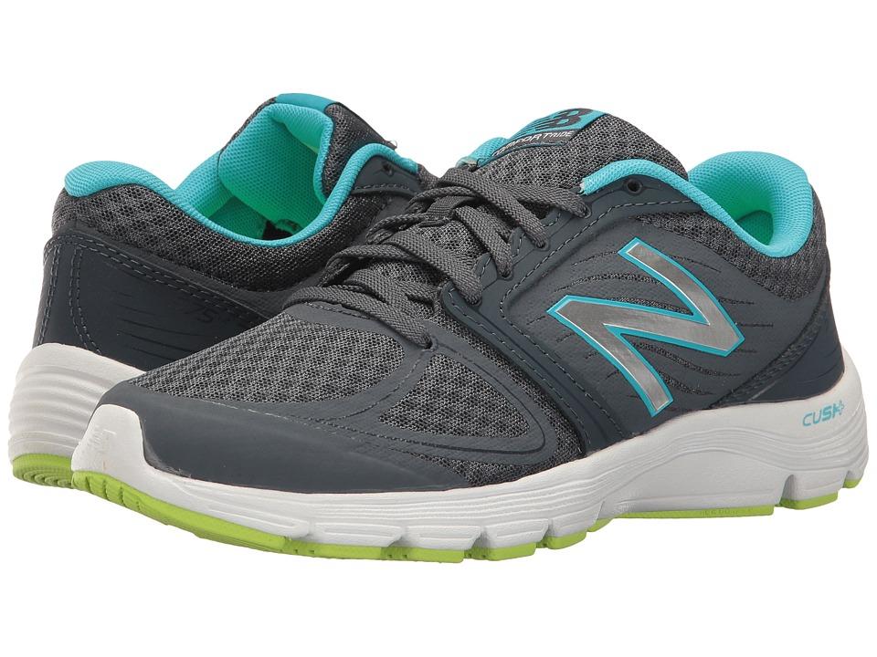 New Balance - W575v2 (Grey/Purple) Women's Shoes