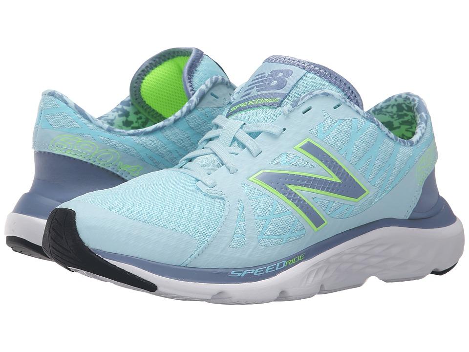 New Balance - W690v4 (Blue/Green) Women's Running Shoes