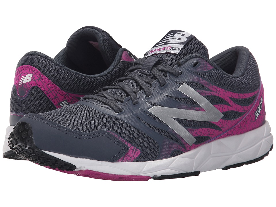 New Balance - W590v5 (Grey/Pink) Women's Shoes