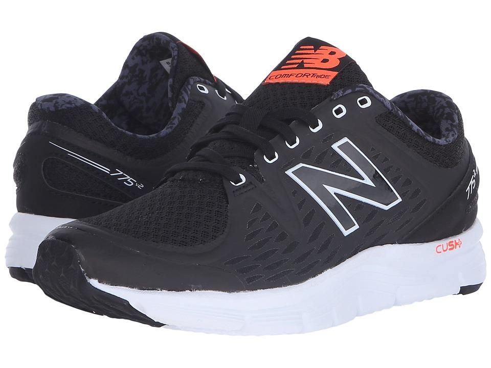 New Balance - W775v2 (Black/White) Women's Shoes