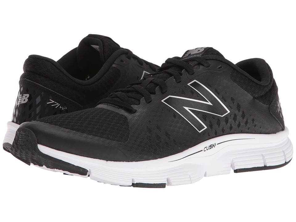 New Balance - ME771 (Black/Grey) Men's Running Shoes