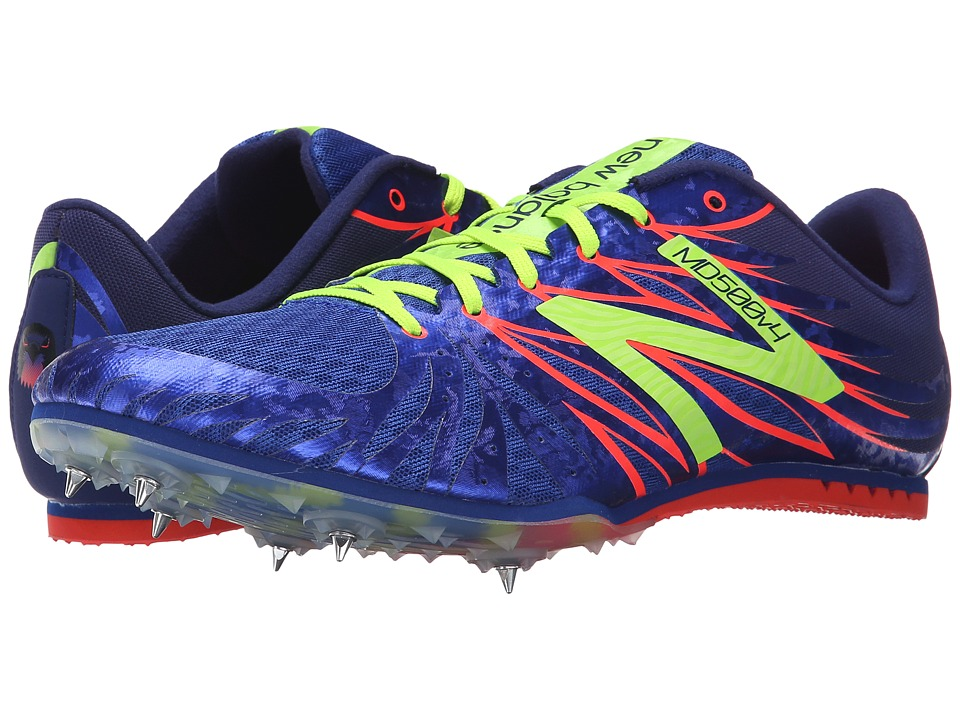 New Balance - MMD500 (Blue/Yellow) Men's Track Shoes