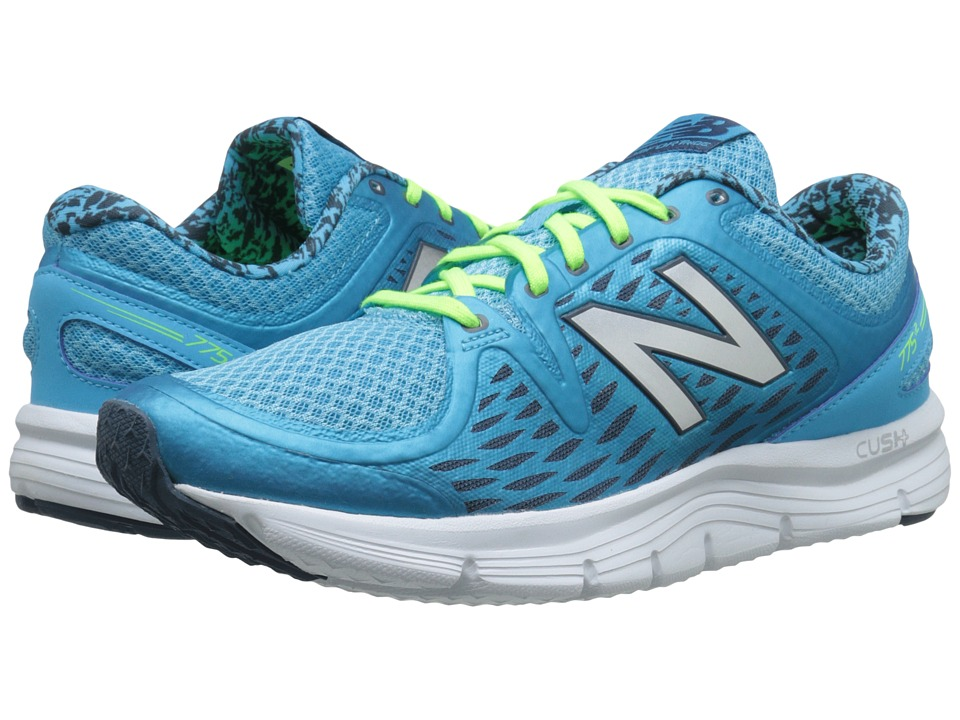 New Balance - W775v2 (Blue/White) Women's Shoes