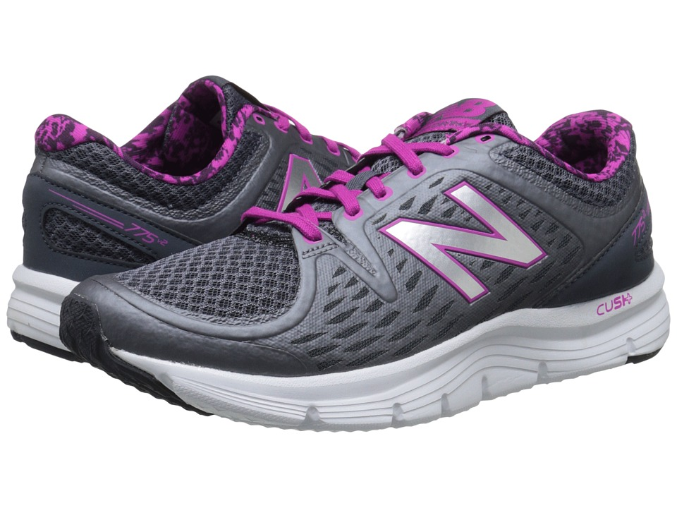 New Balance - W775v2 (Grey/Purple) Women's Shoes