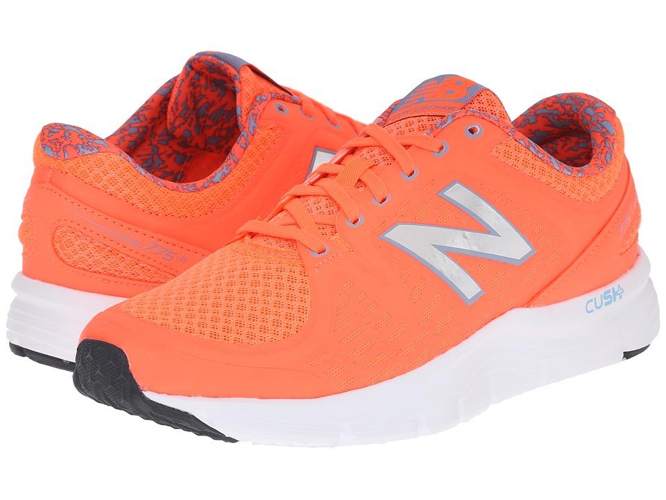 New Balance - W775v2 (Orange/Silver) Women's Shoes
