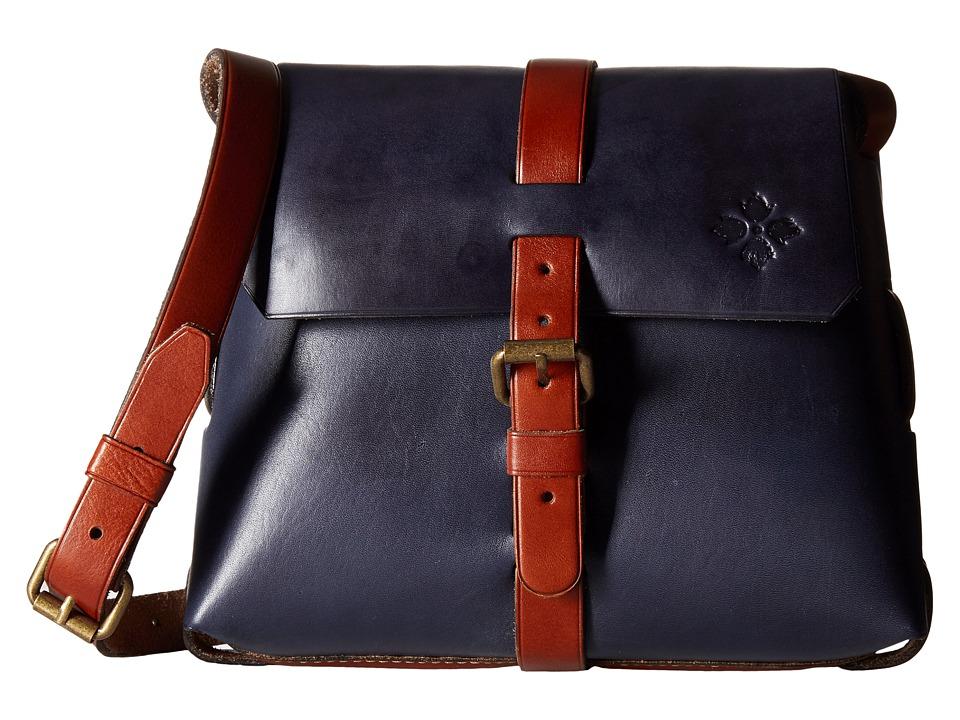 Patricia Nash - Oil Rub Frattini Strapped Satchel (Eclipse) Cross Body Handbags