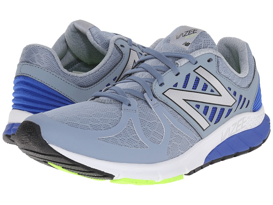 New Balance - Vazee Rush (Silver/Blue) Men's Running Shoes