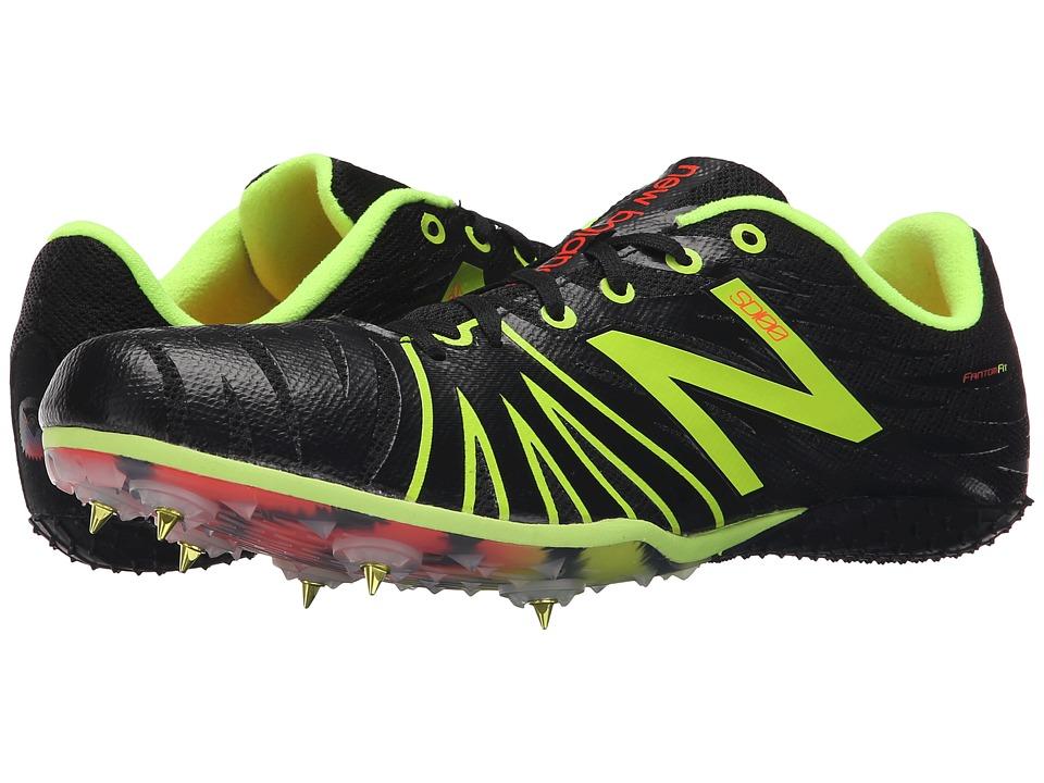 New Balance - MSD100 (Black/Yellow) Men's Running Shoes