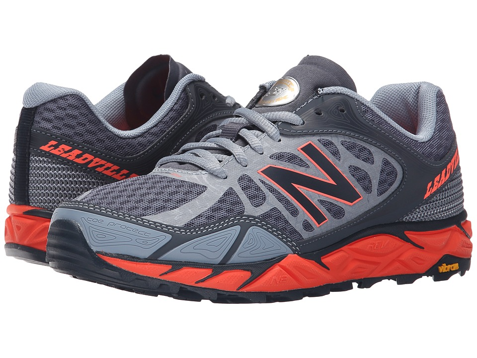 New Balance - Leadville (Grey/Orange) Women's Shoes