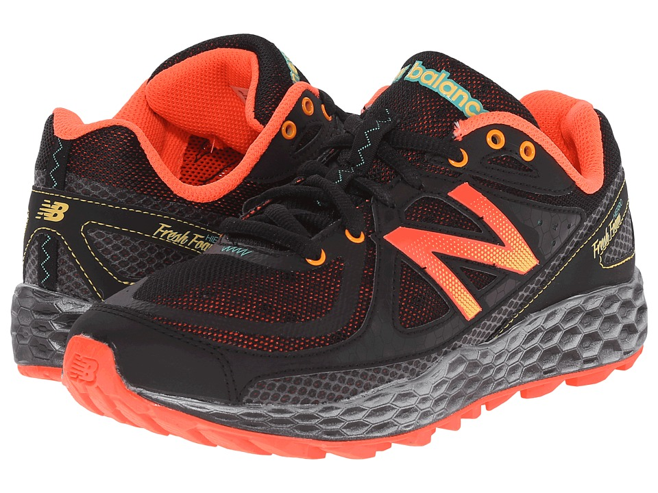 New Balance - Fresh Foam Hierro (Black/Orange) Women's Running Shoes
